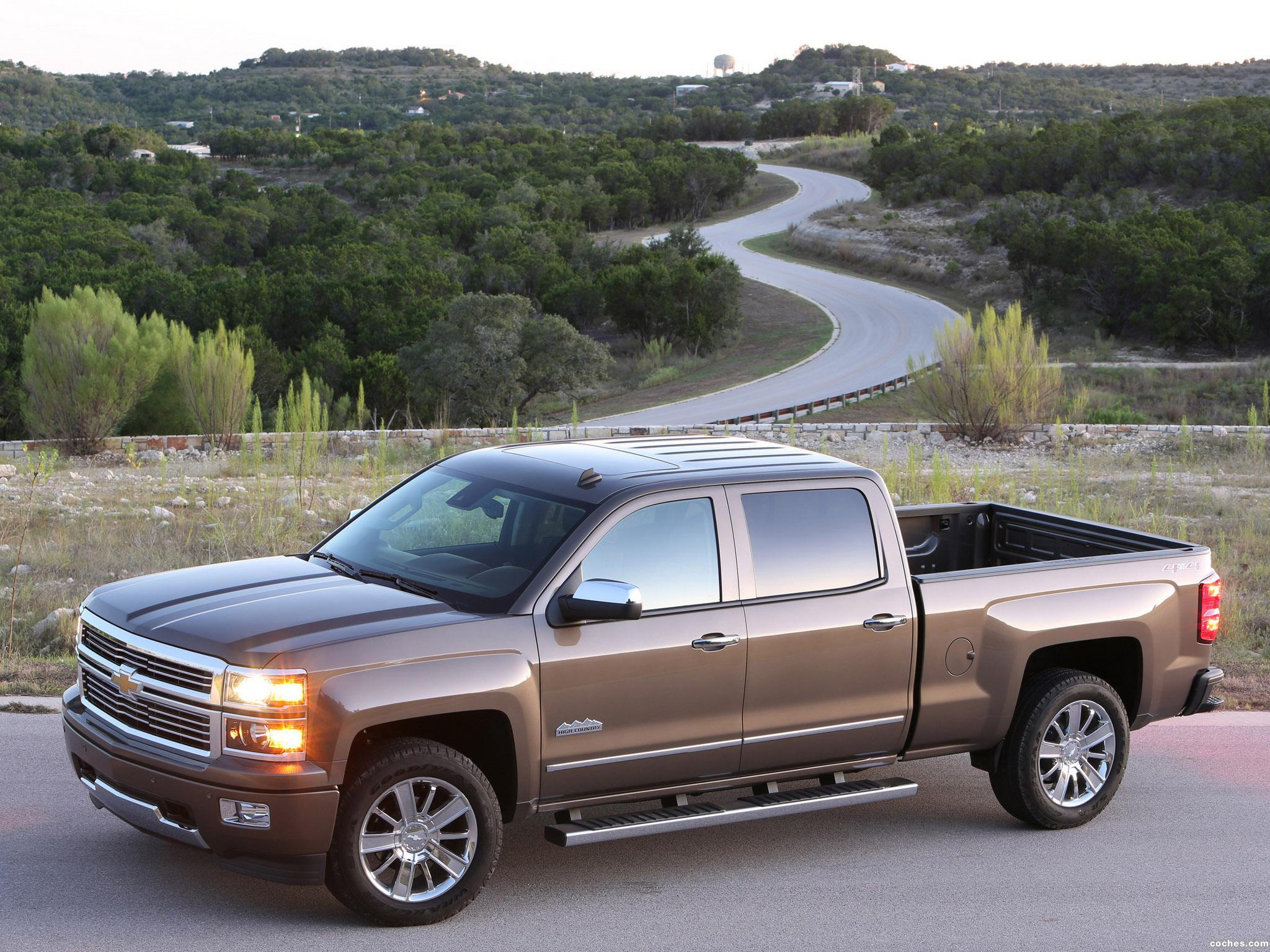 Foto 1 de Chevrolet Silverado High Country Crew Cab 2013
