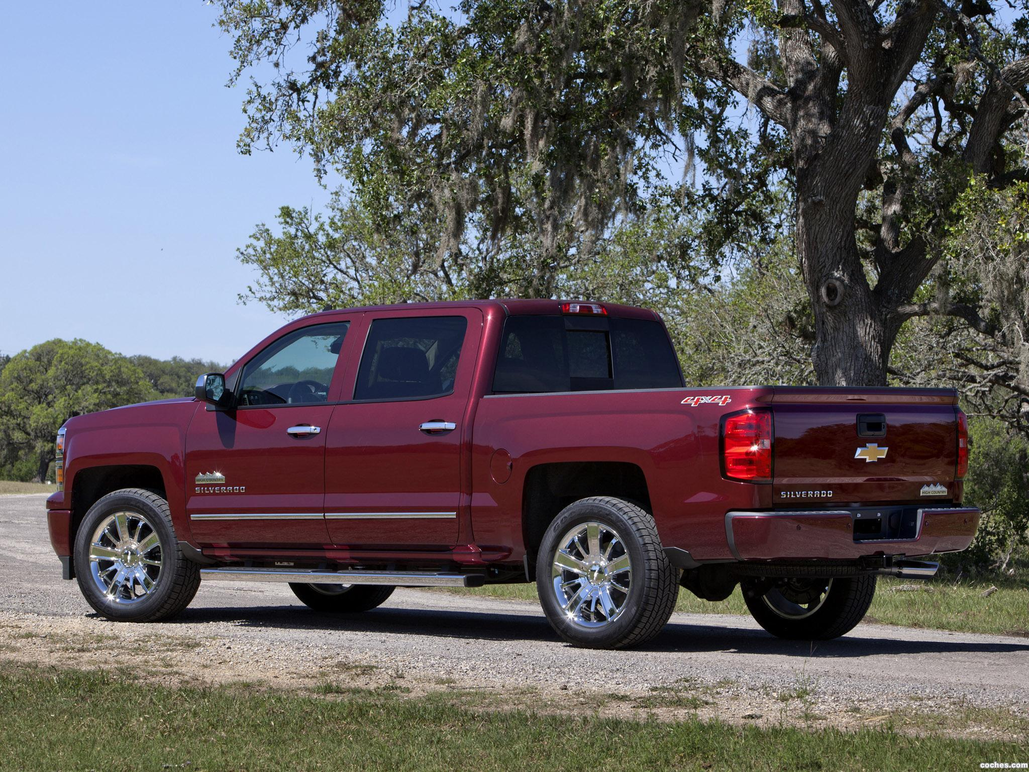 Foto 12 de Chevrolet Silverado High Country Crew Cab 2013