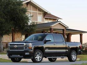 Ver foto 3 de Chevrolet Silverado High Country Crew Cab 2013