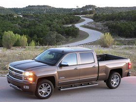 Ver foto 2 de Chevrolet Silverado High Country Crew Cab 2013