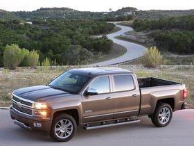 Ver foto 2 de Chevrolet Silverado High Country Crew Cab 2013
