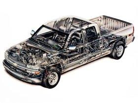 Ver foto 9 de Chevrolet Silverado Z71 Extended Cab 2002