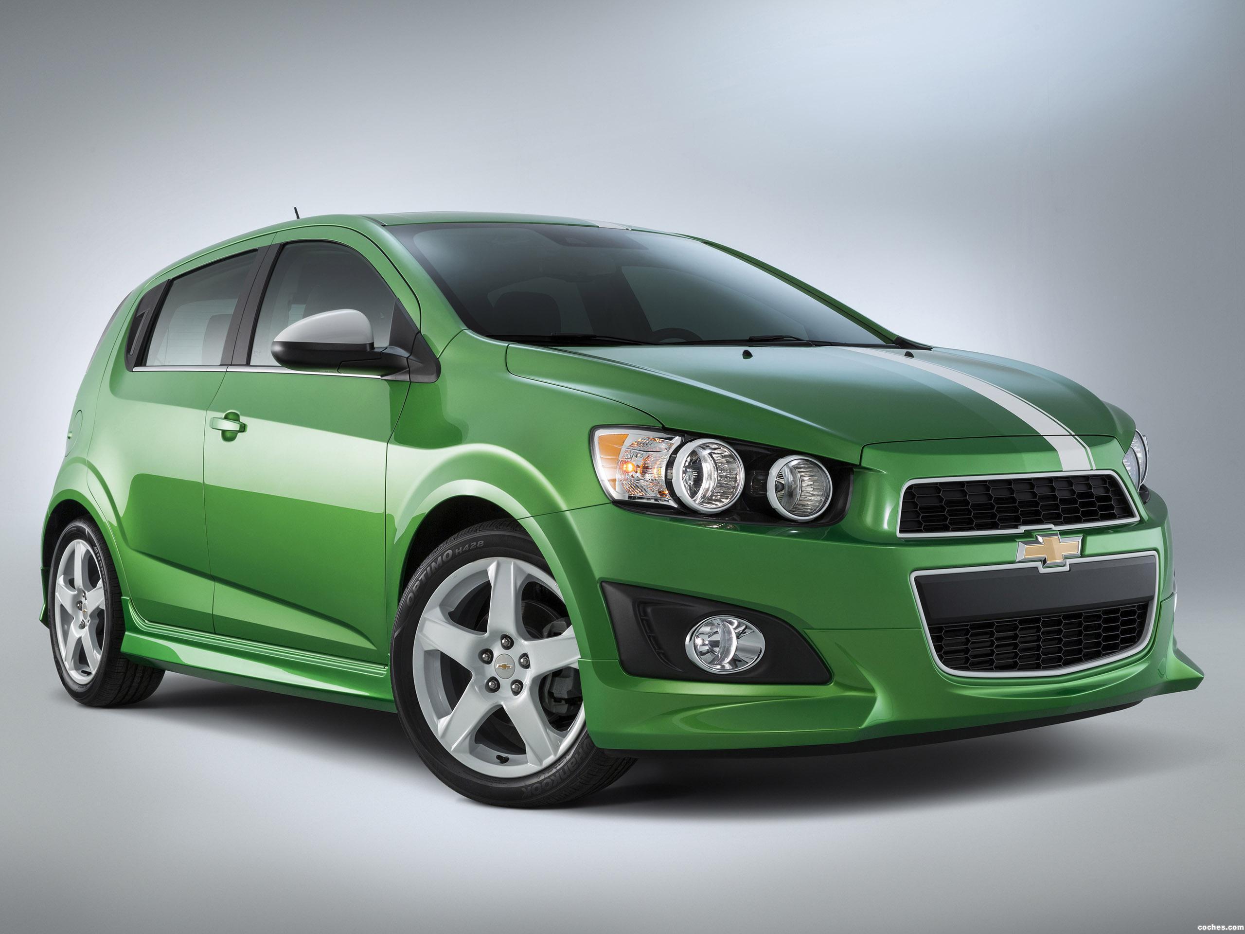 Foto 0 de Chevrolet Sonic Performance Concept 2014