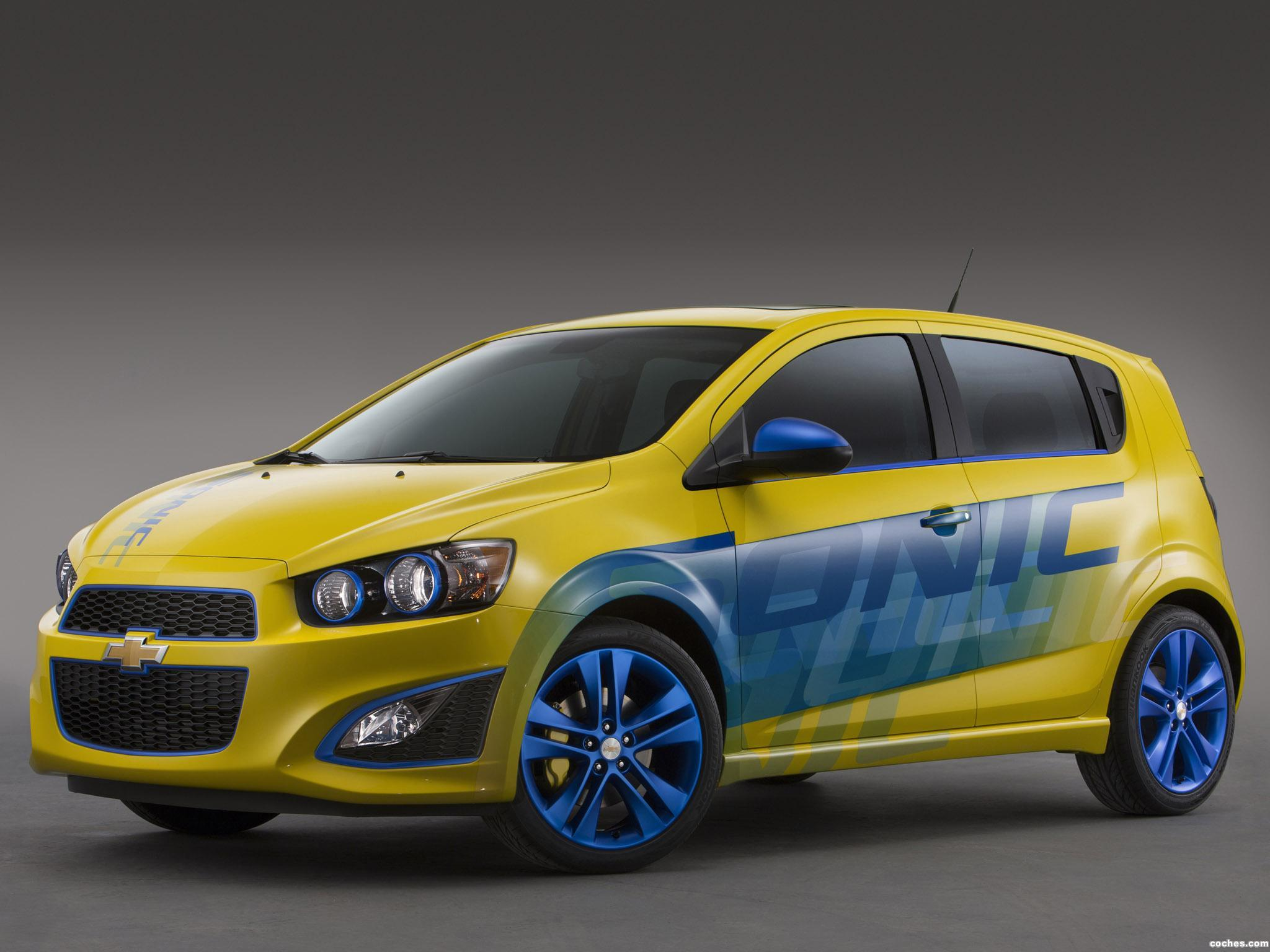 Foto 0 de Chevrolet Sonic RS Performance Concept 2013
