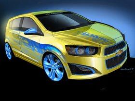Ver foto 3 de Chevrolet Sonic RS Performance Concept 2013