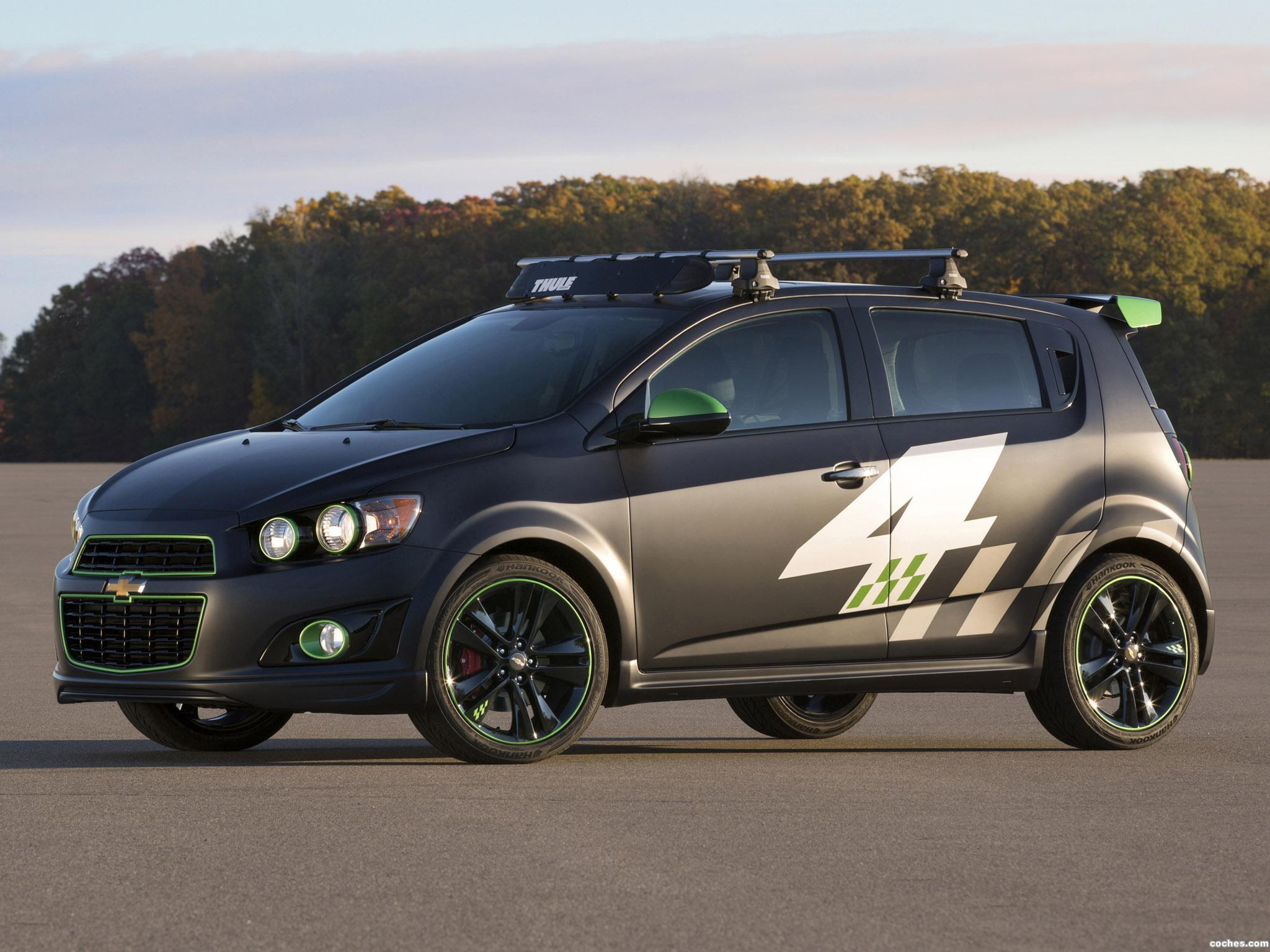 Foto 0 de Chevrolet Sonic Ricky Carmichael All Activity Concept 2013