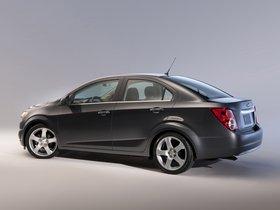 Ver foto 4 de Chevrolet Sonic Sedan 2011