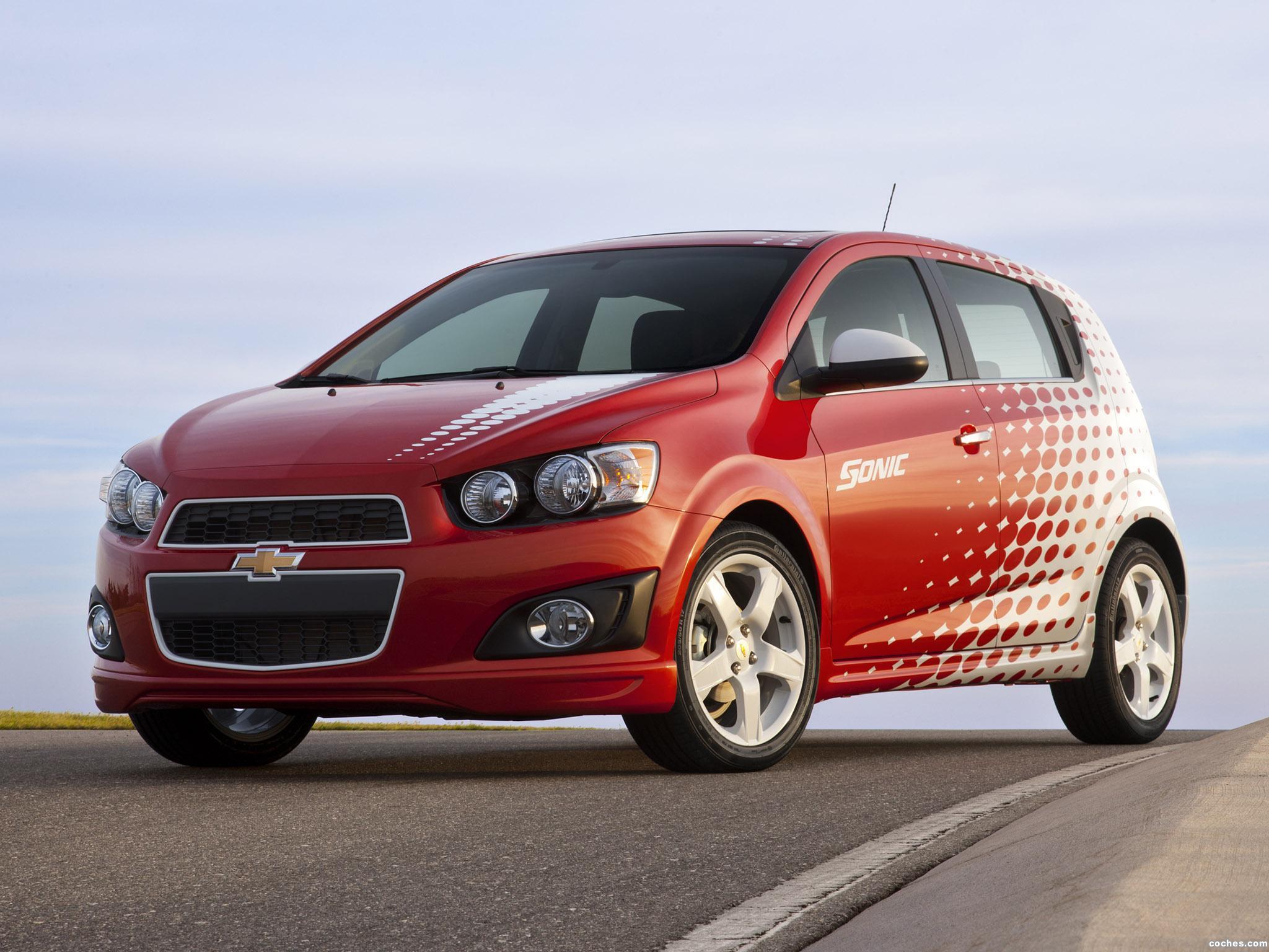 Foto 0 de Chevrolet Sonic Z-Spec Color Out Package 2011