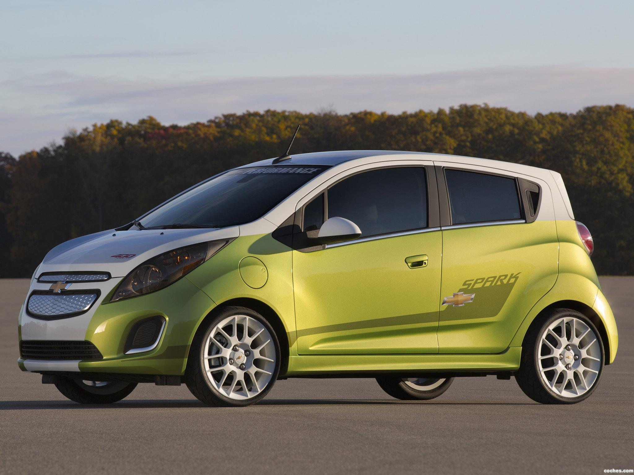 Foto 0 de Chevrolet Spark EV Tech Performance Concept 2013