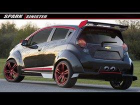 Ver foto 2 de Chevrolet Spark Sinister Concept 2012