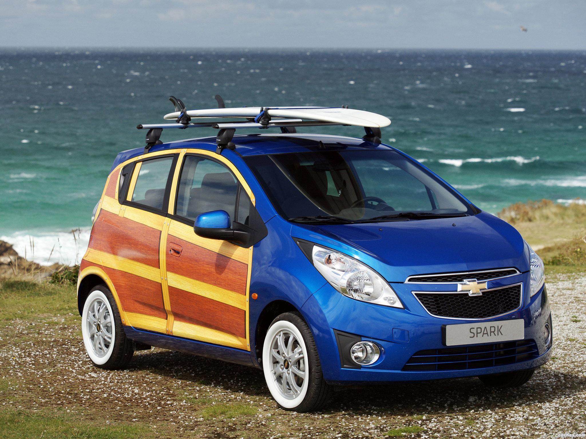Foto 0 de Chevrolet Spark Woody Concept 2010