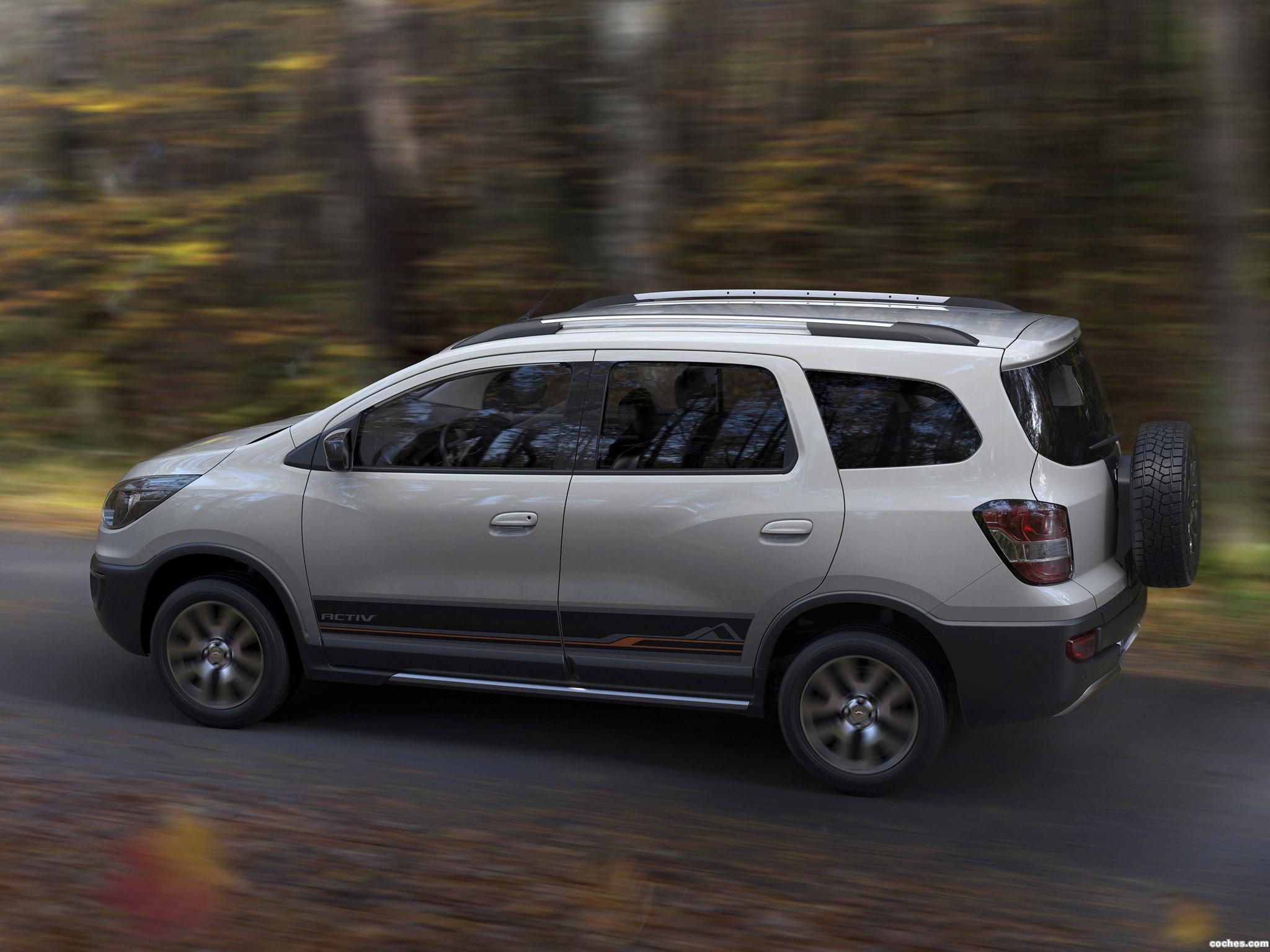 Foto 3 de Chevrolet Spin Activ 2014