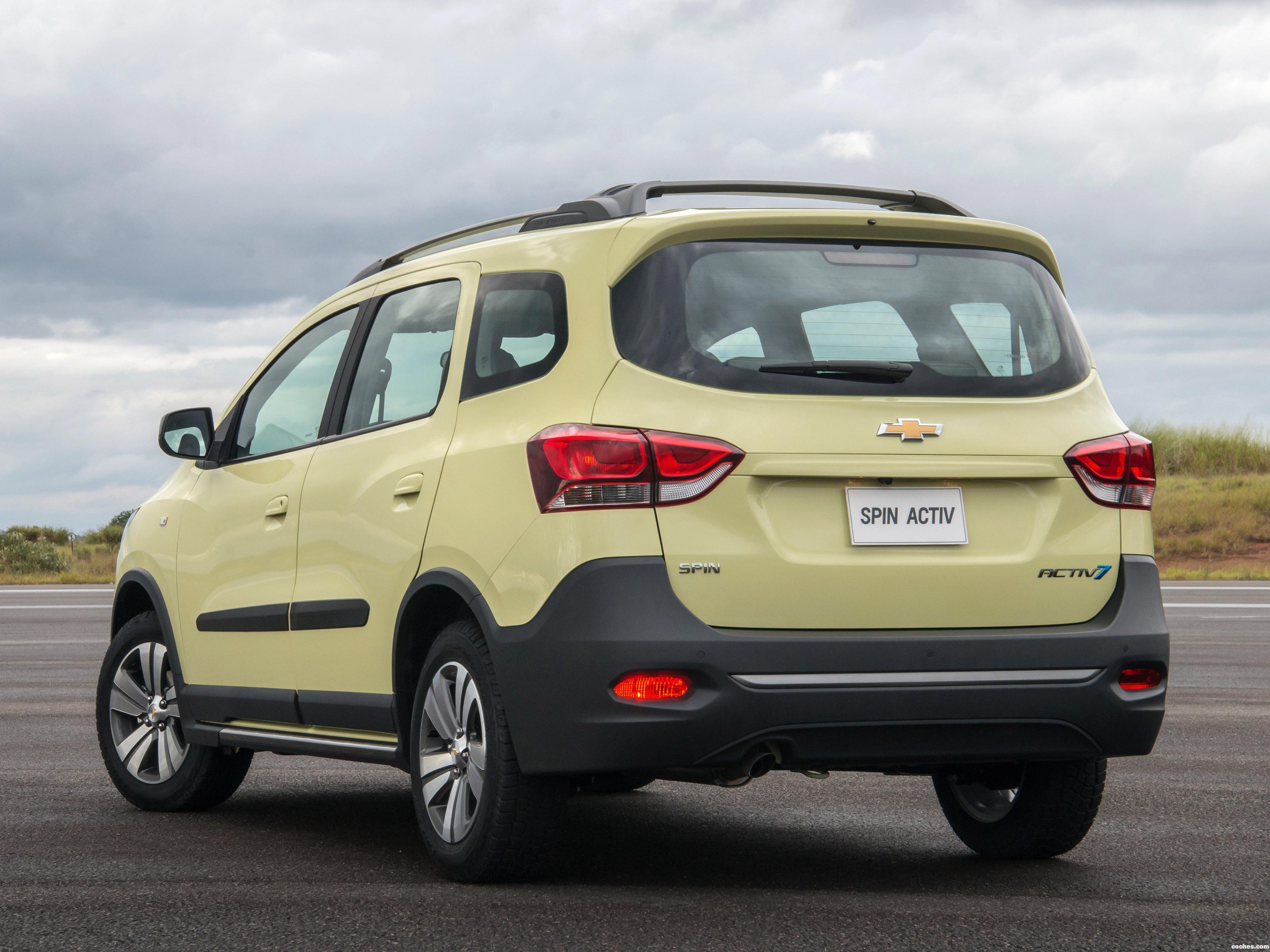 Foto 2 de Chevrolet Spin Activ 2018