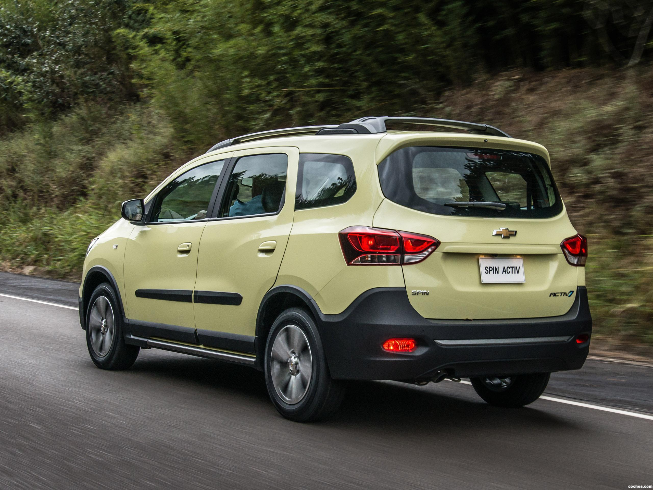 Foto 6 de Chevrolet Spin Activ 2018