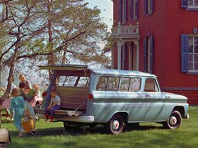 Ver foto 3 de Chevrolet Suburban 1955