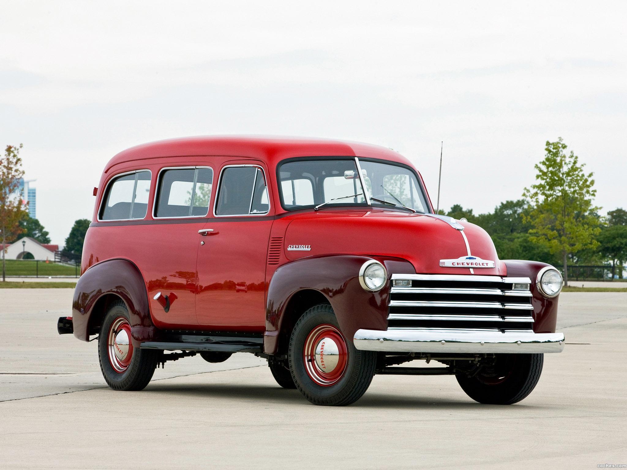 Foto 0 de Chevrolet Suburban Carryall 1951