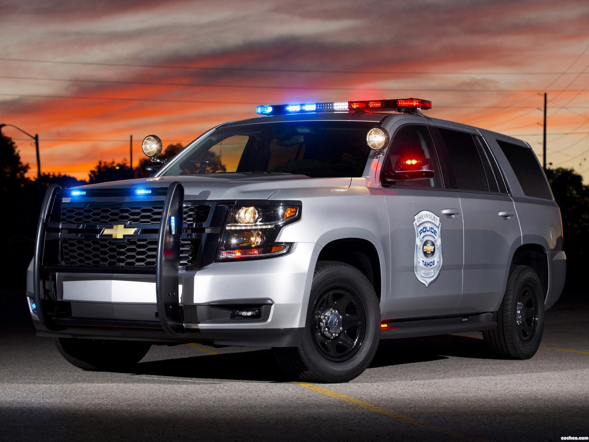 Foto 0 de Chevrolet Tahoe Police Concept 2013