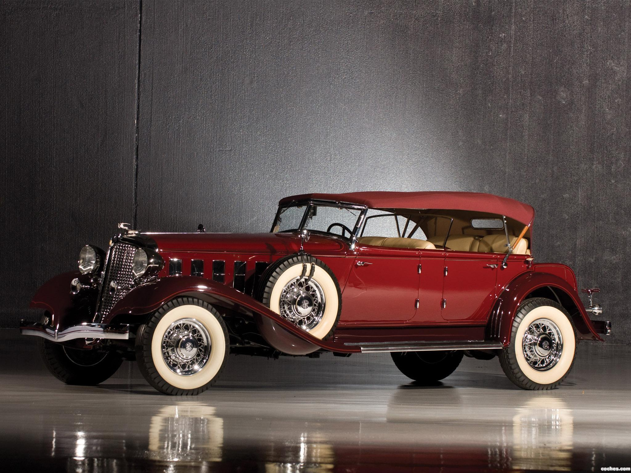 Foto 0 de Chrysler CL Imperial Dual Windshield Sport Phaeton 1933