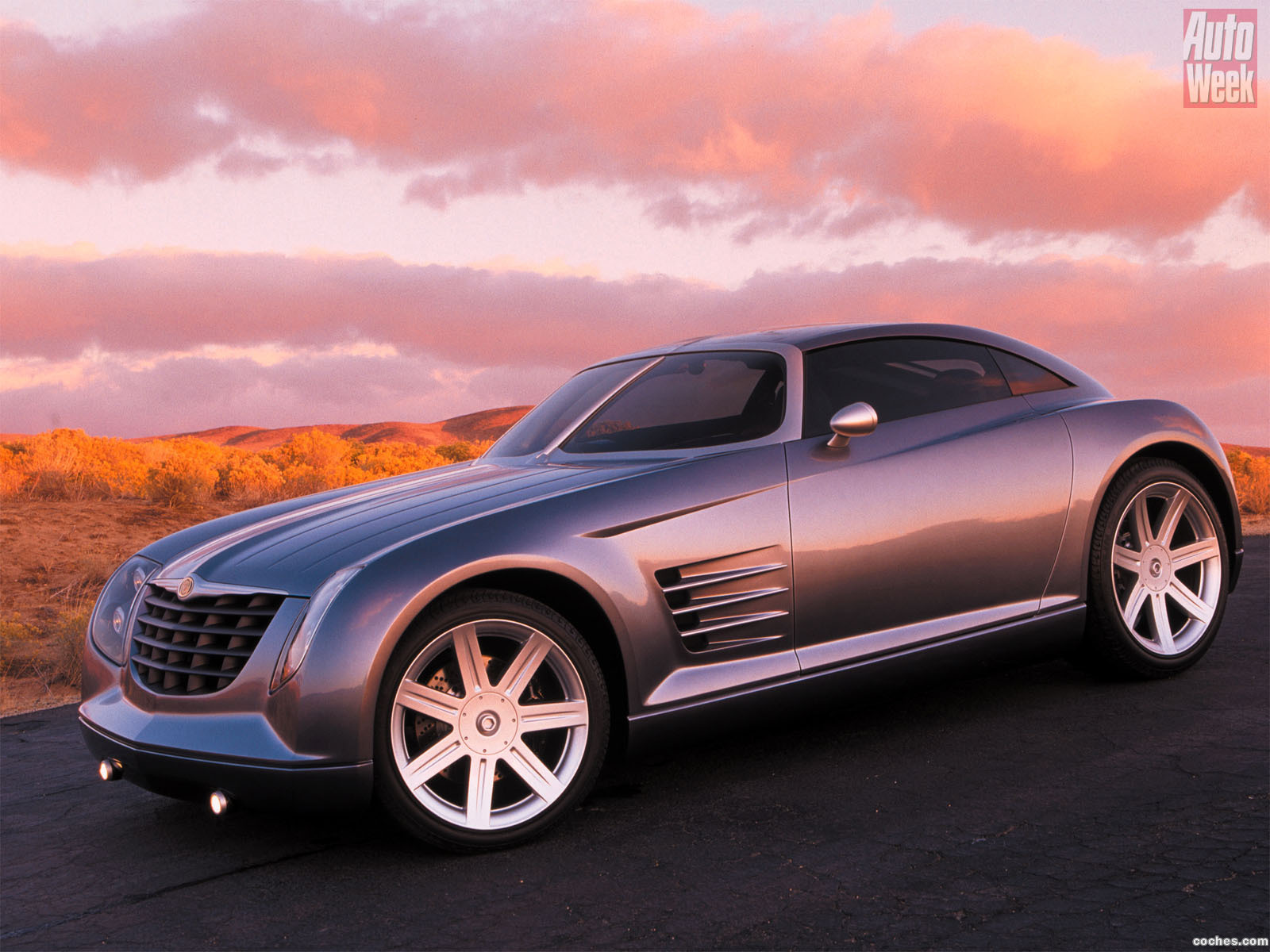 Foto 0 de Chrysler Crossfire Concept 2001
