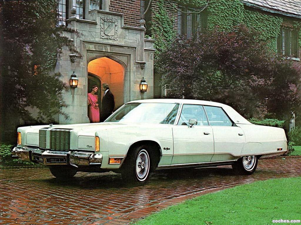 Foto 0 de Chrysler New Yorker 4 door Hardtop 1978