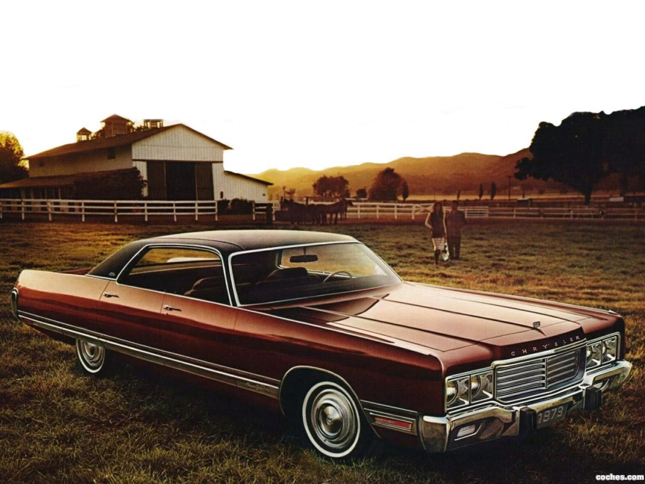 Foto 0 de Chrysler New Yorker Brougham 4 door Hardtop 1973