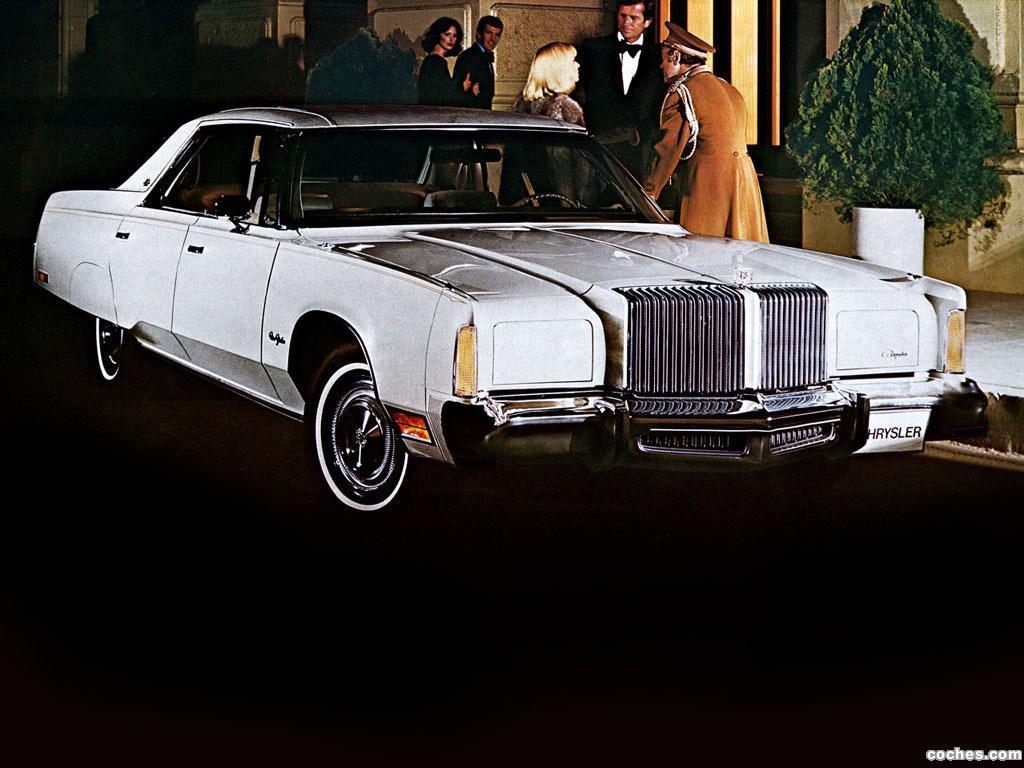 Foto 0 de Chrysler New Yorker Brougham 4 door Hardtop 1977