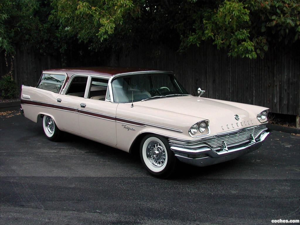 Foto 0 de Chrysler New Yorker Station Wagon 1957