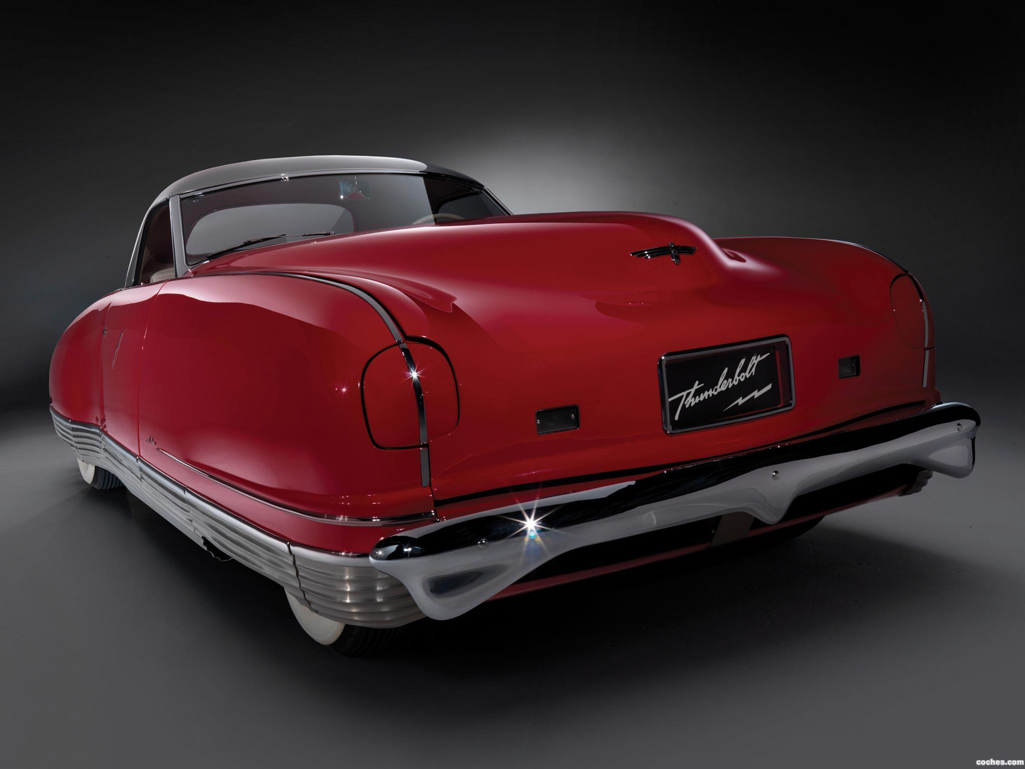 Foto 0 de Chrysler Thunderbolt Concept Car 1940
