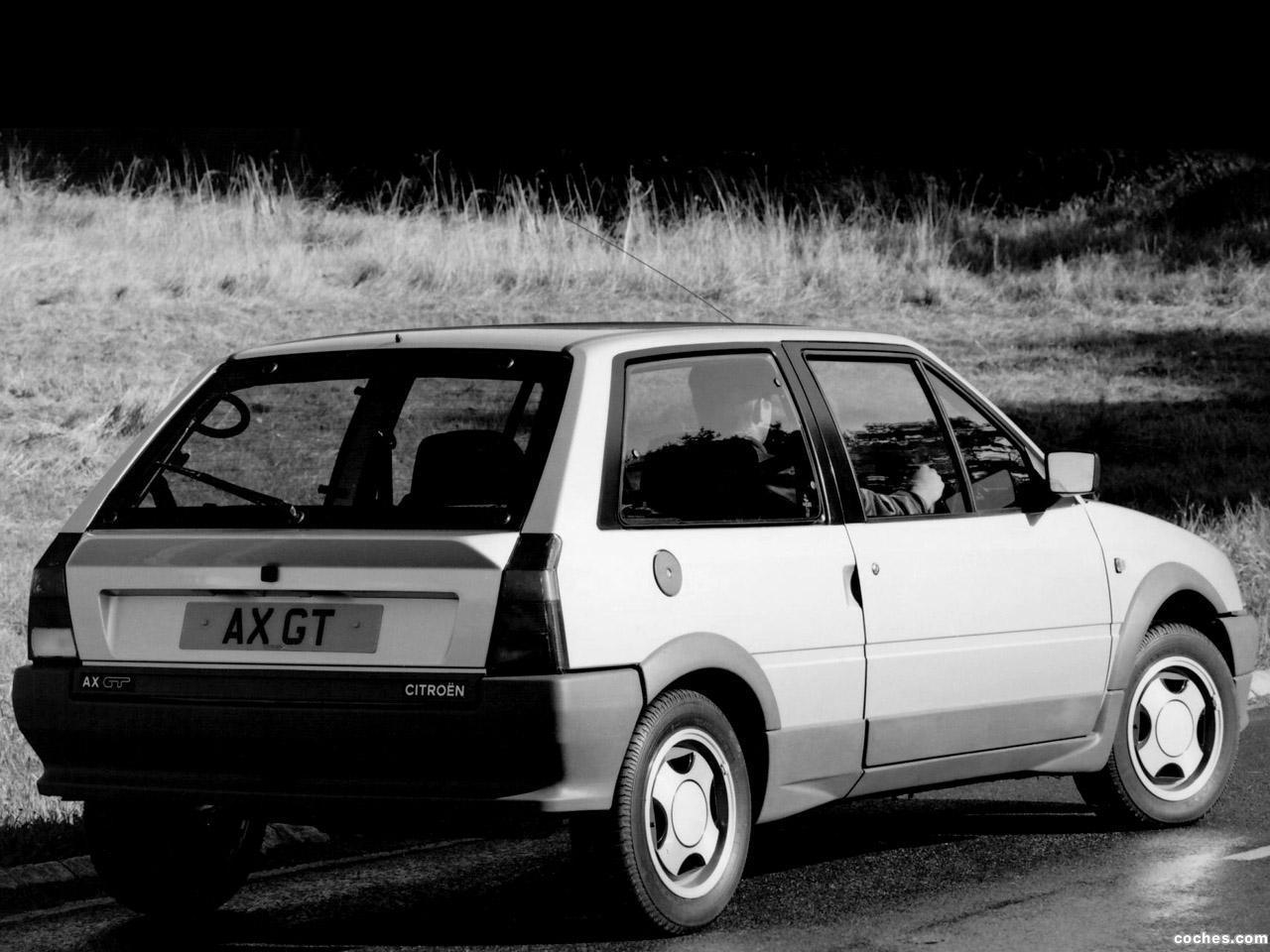 Foto 3 de Citroen AX GT UK 1986