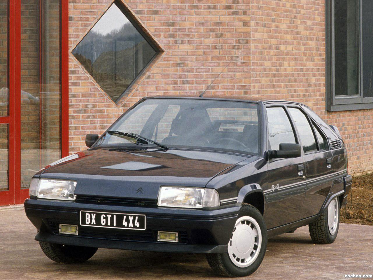 Foto 0 de Citroen BX GTi 4x4 1988