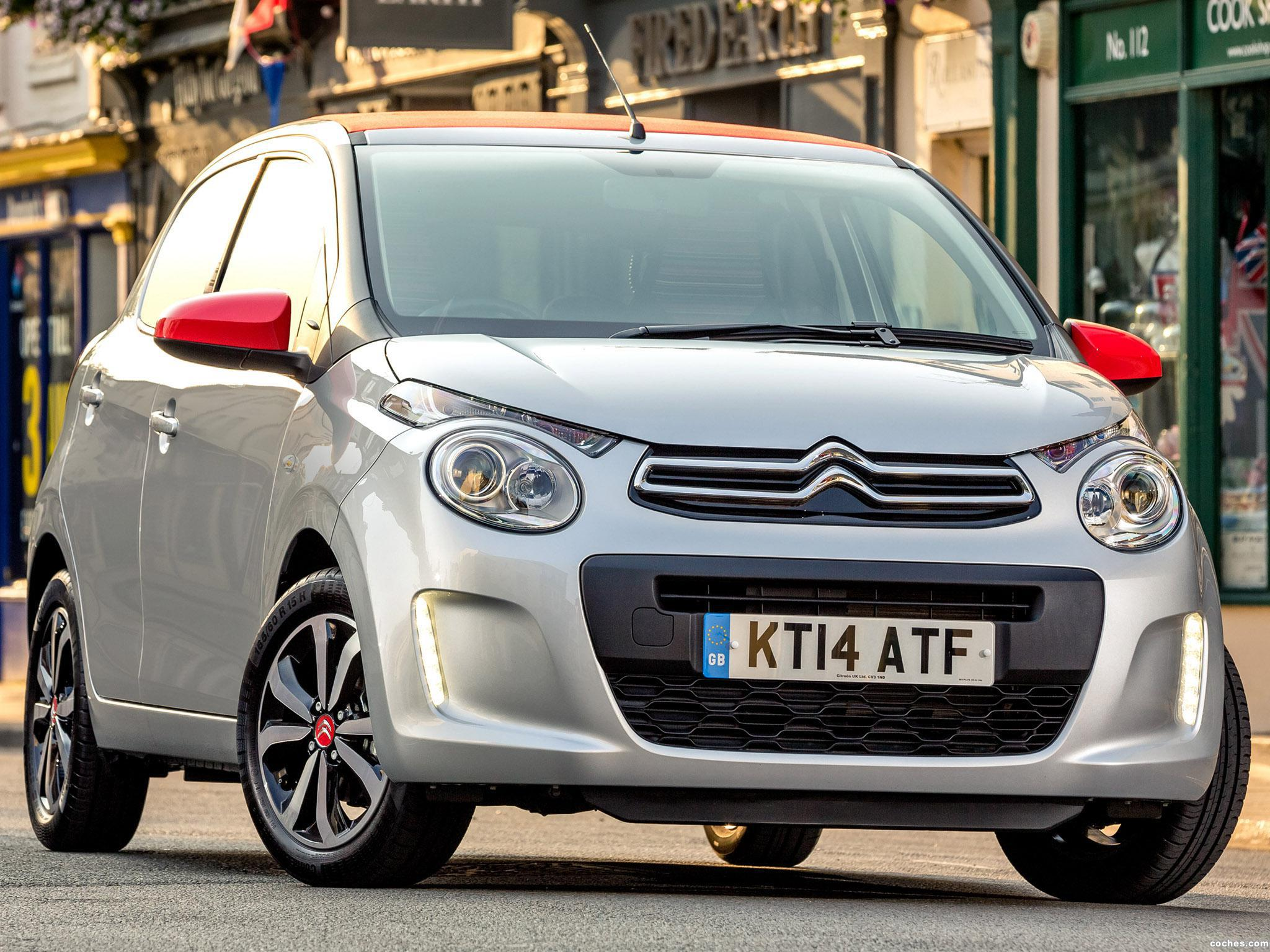 Foto 0 de Citroen C1 Airscape 5 door UK 2014