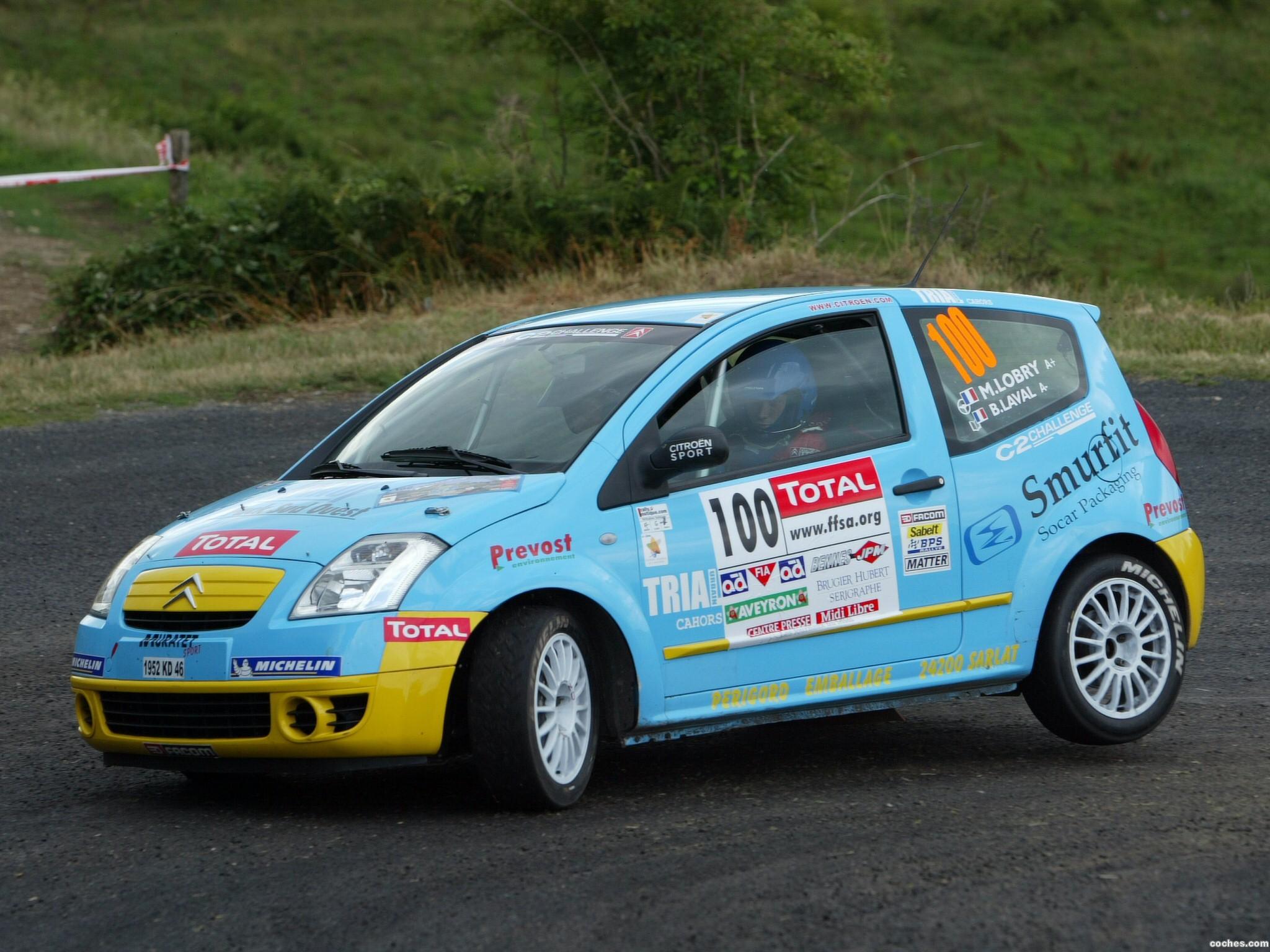 Foto 1 de Citroen C2 Rallycross 2005
