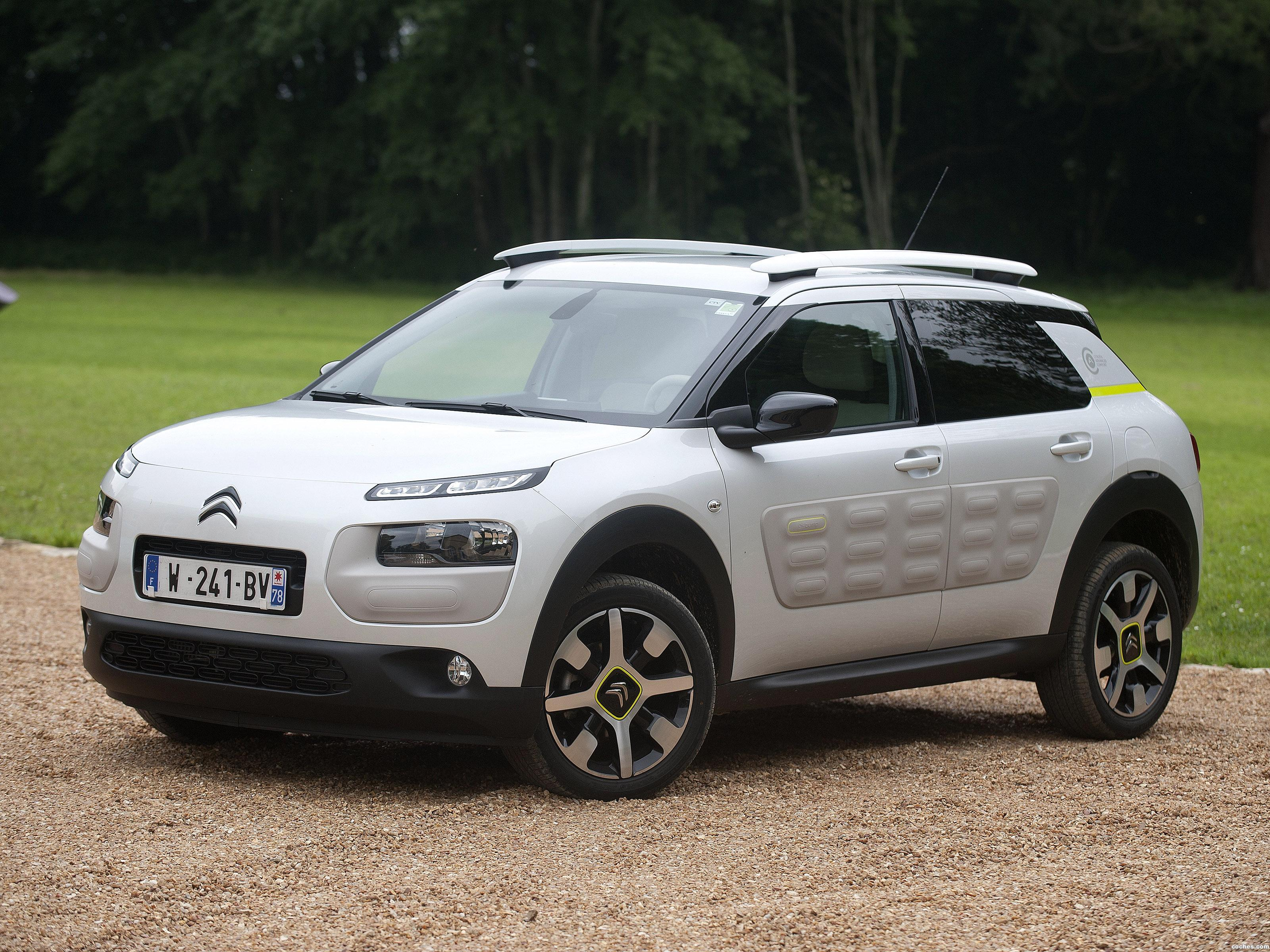 Foto 0 de Citroen C4 Cactus Advanced Comfort Lab Prototype 2016