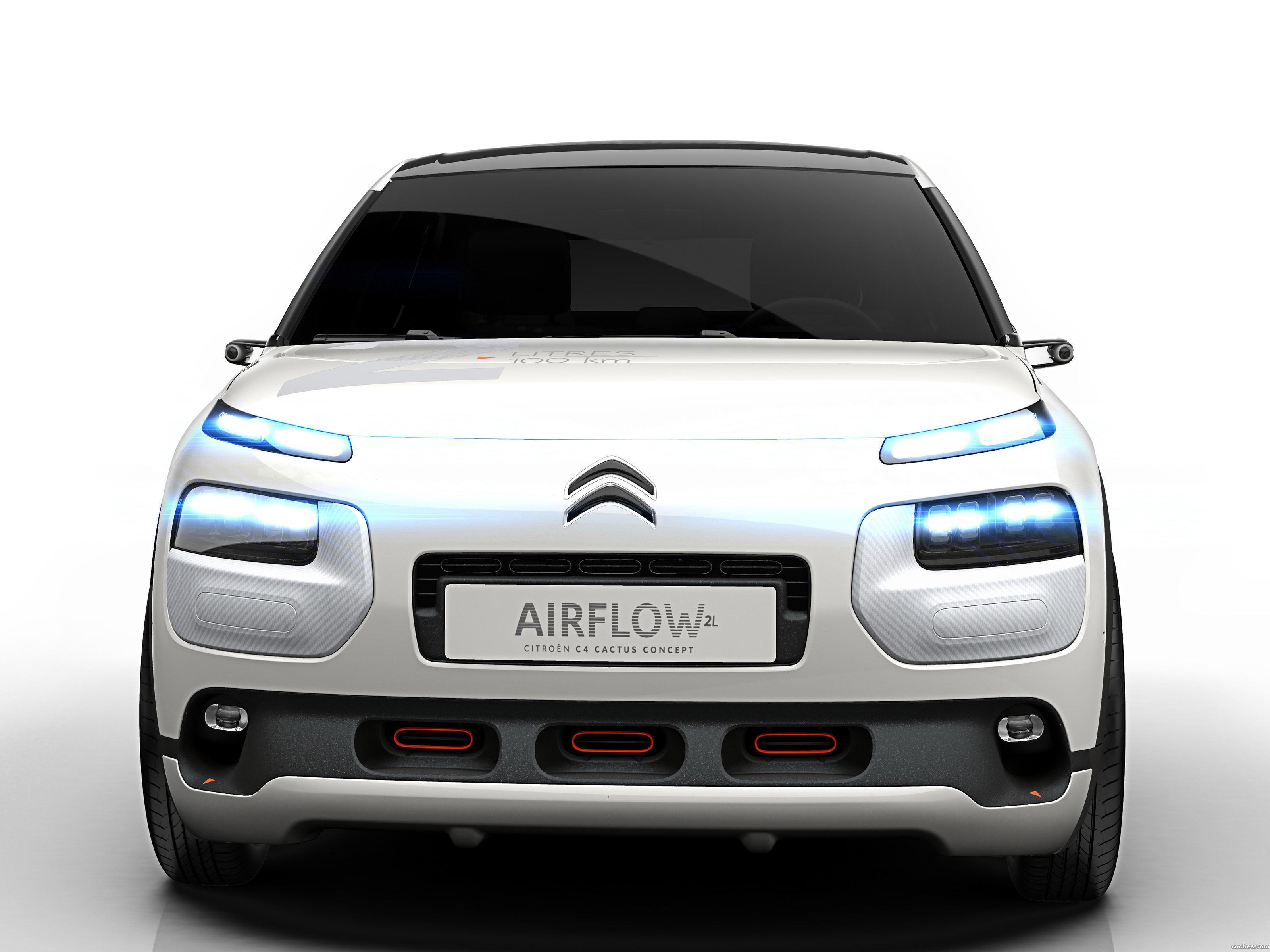 Foto 0 de Citroen C4 Cactus Airflow 2L Concept 2014