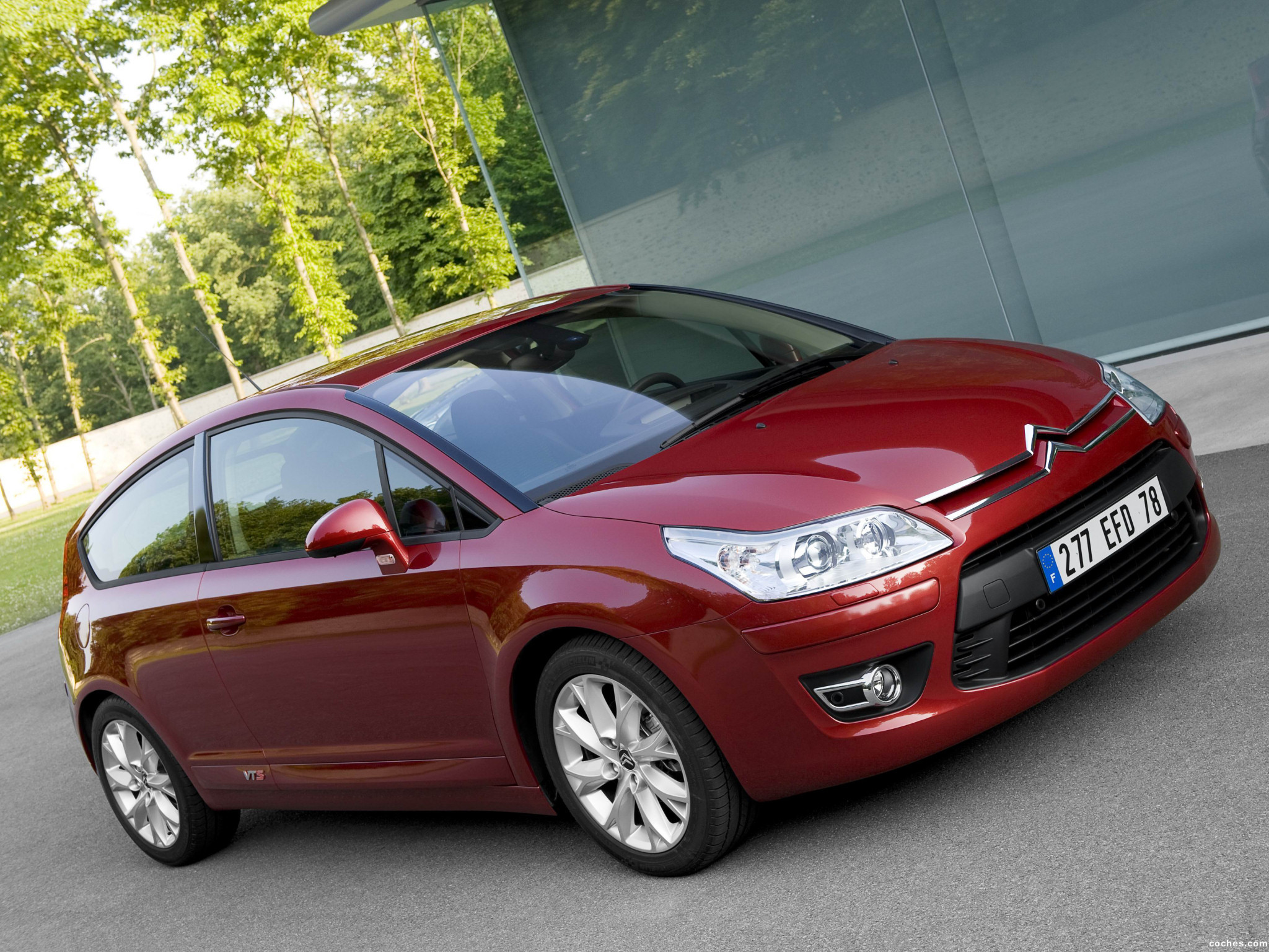 Foto 0 de Citroen C4 Coupe Facelift 2008