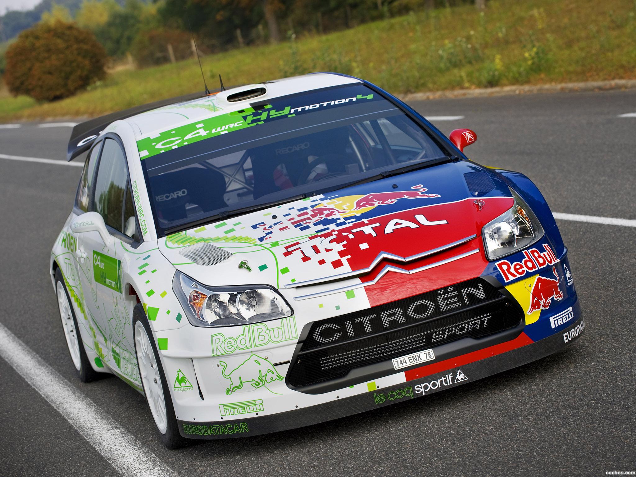 Foto 0 de Citroen C4 WRC HYmotion4 2008