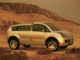 Ver foto 6 de Citroen Crosser Concept 2001