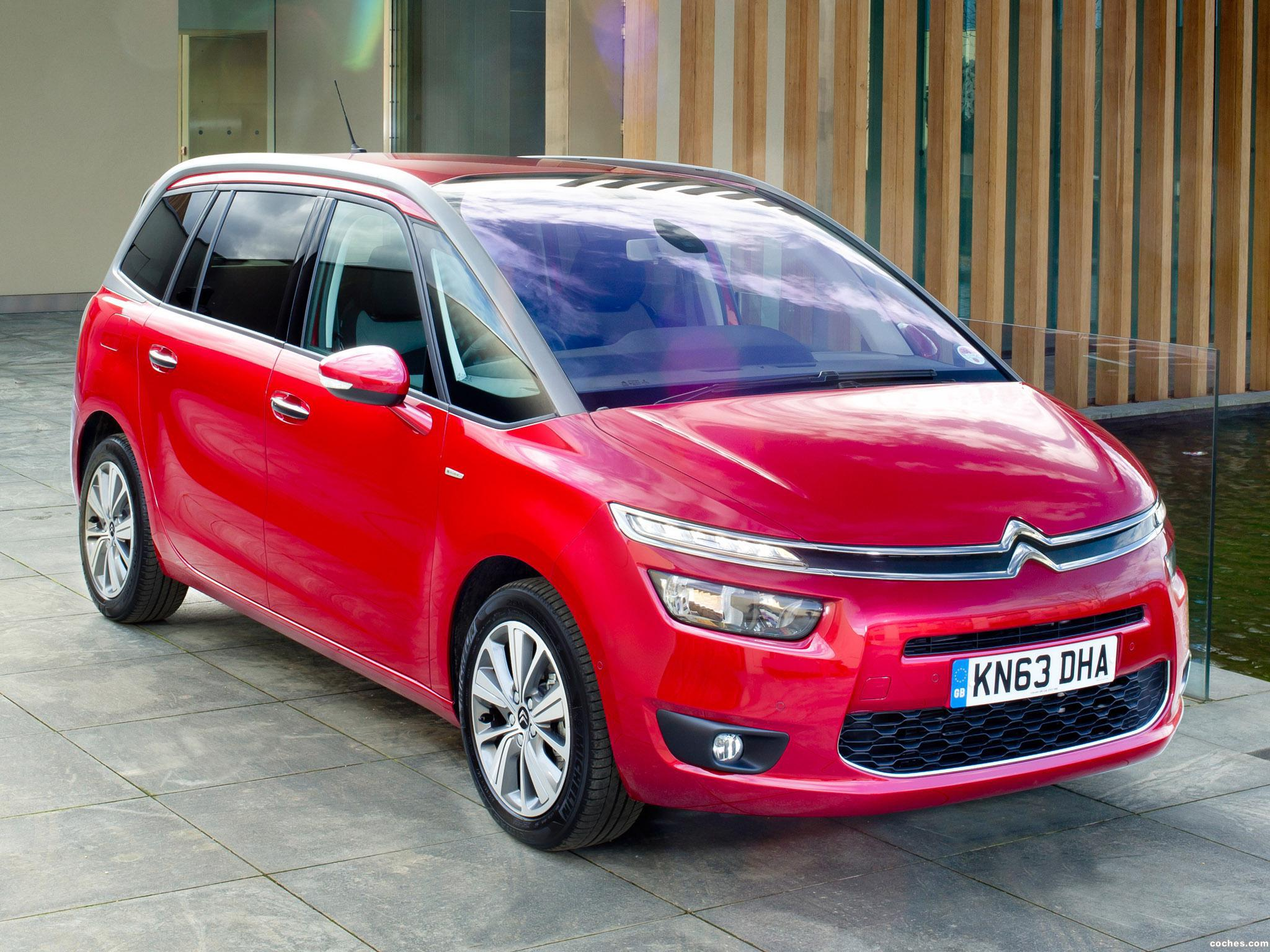 Foto 0 de Citroen C4 Grand Picasso UK 2014