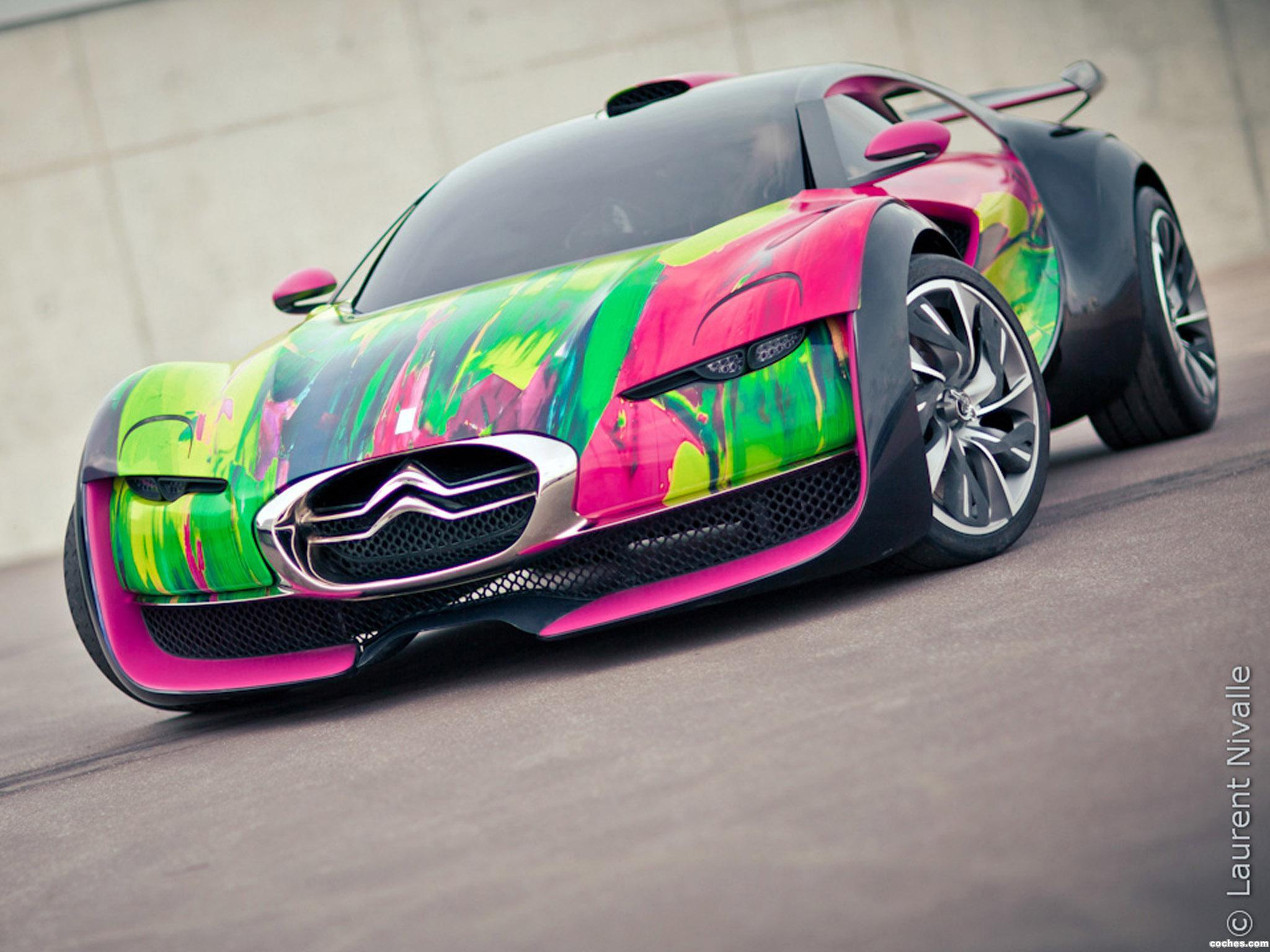 Foto 0 de Citroen Survolt Concept Art Car 2010