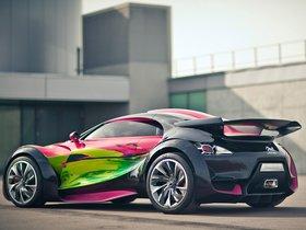 Ver foto 2 de Citroen Survolt Concept Art Car 2010