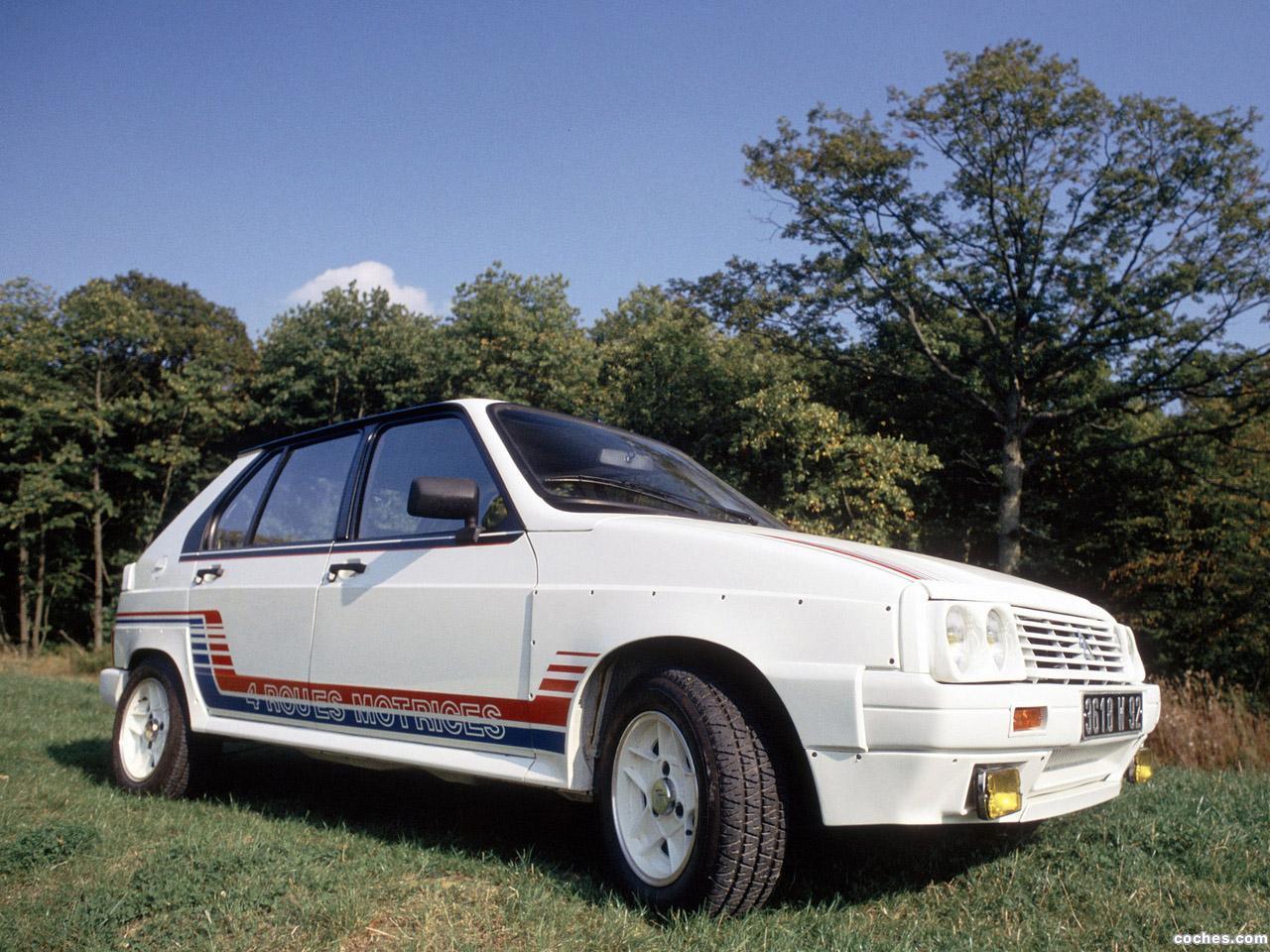 Citroen visa 1000 pistes 1983