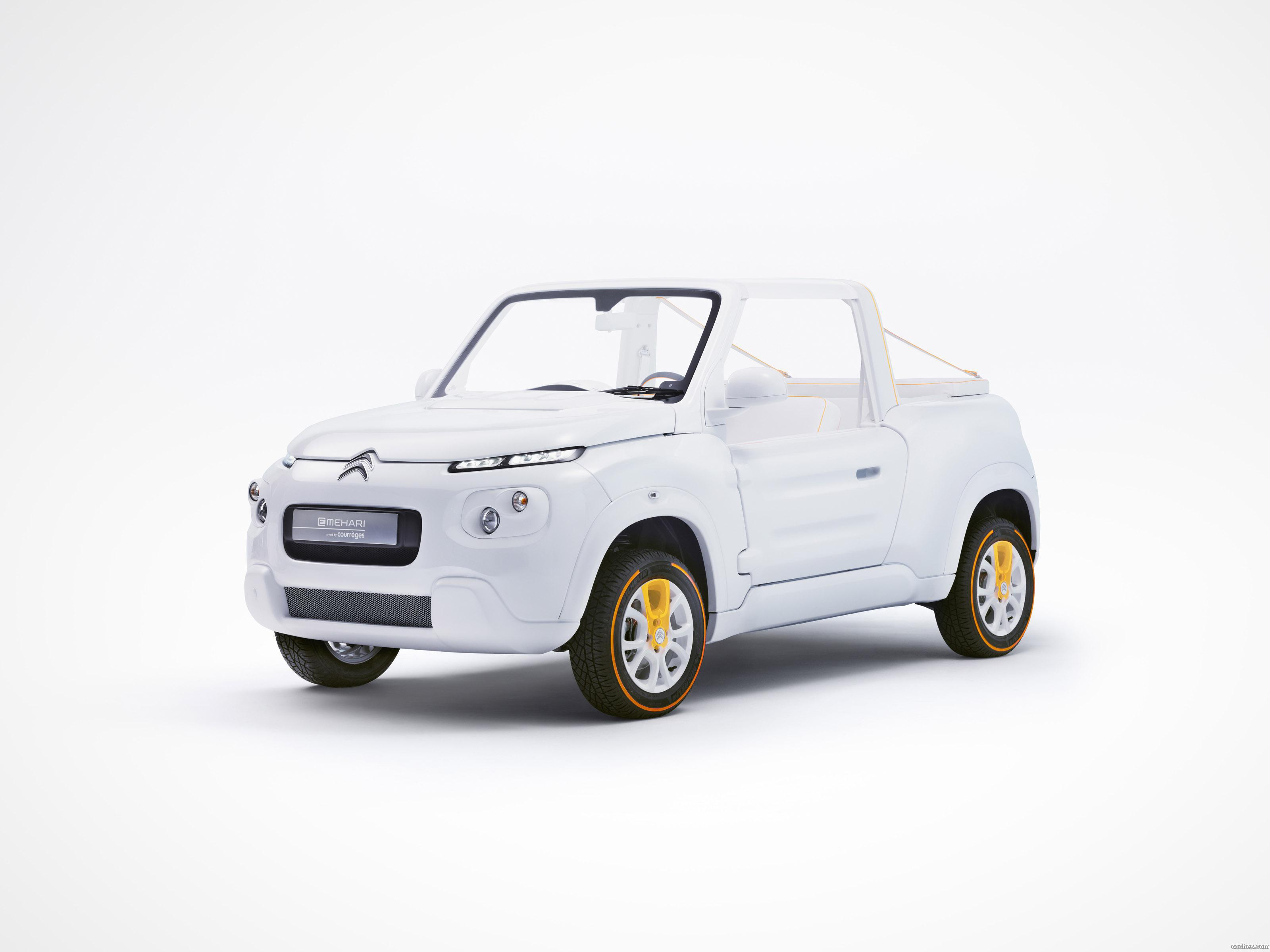 Foto 0 de Citroen e-Mehari Styled by Courreges 2016