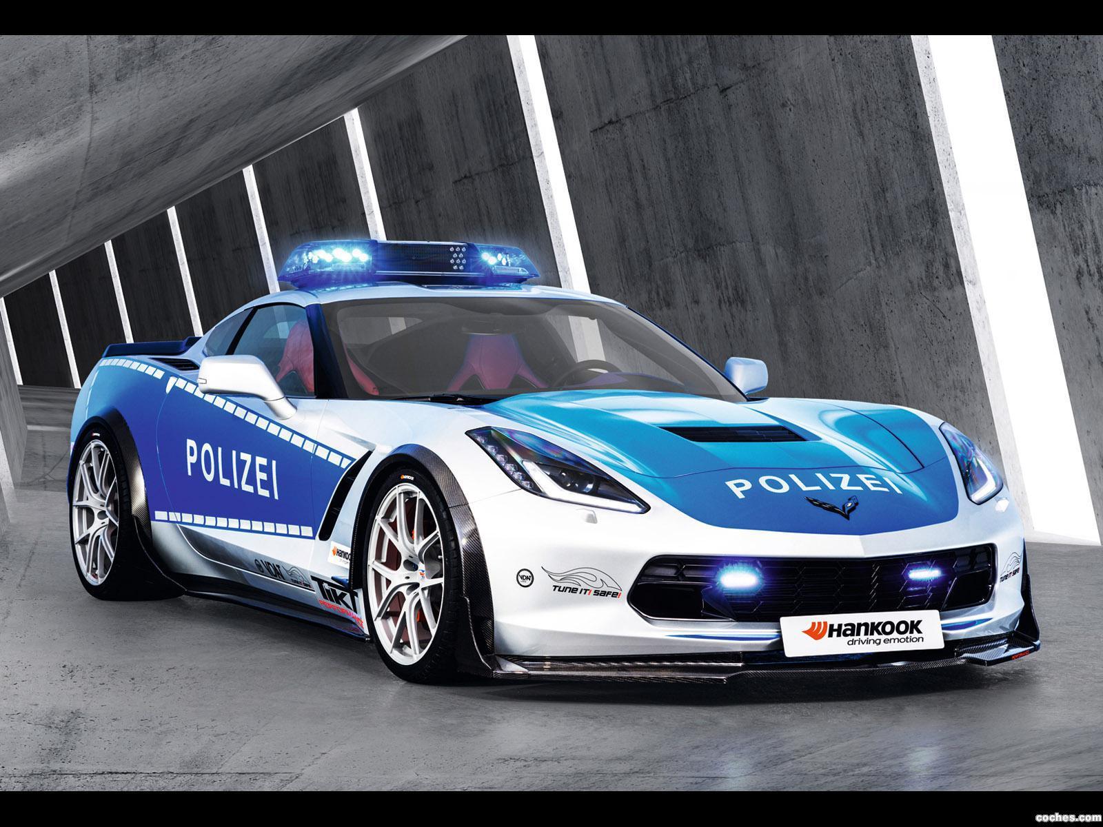 Foto 6 de Chevrolet Corvette C7 Stingray Coupe Polizei Safe Concept 2015
