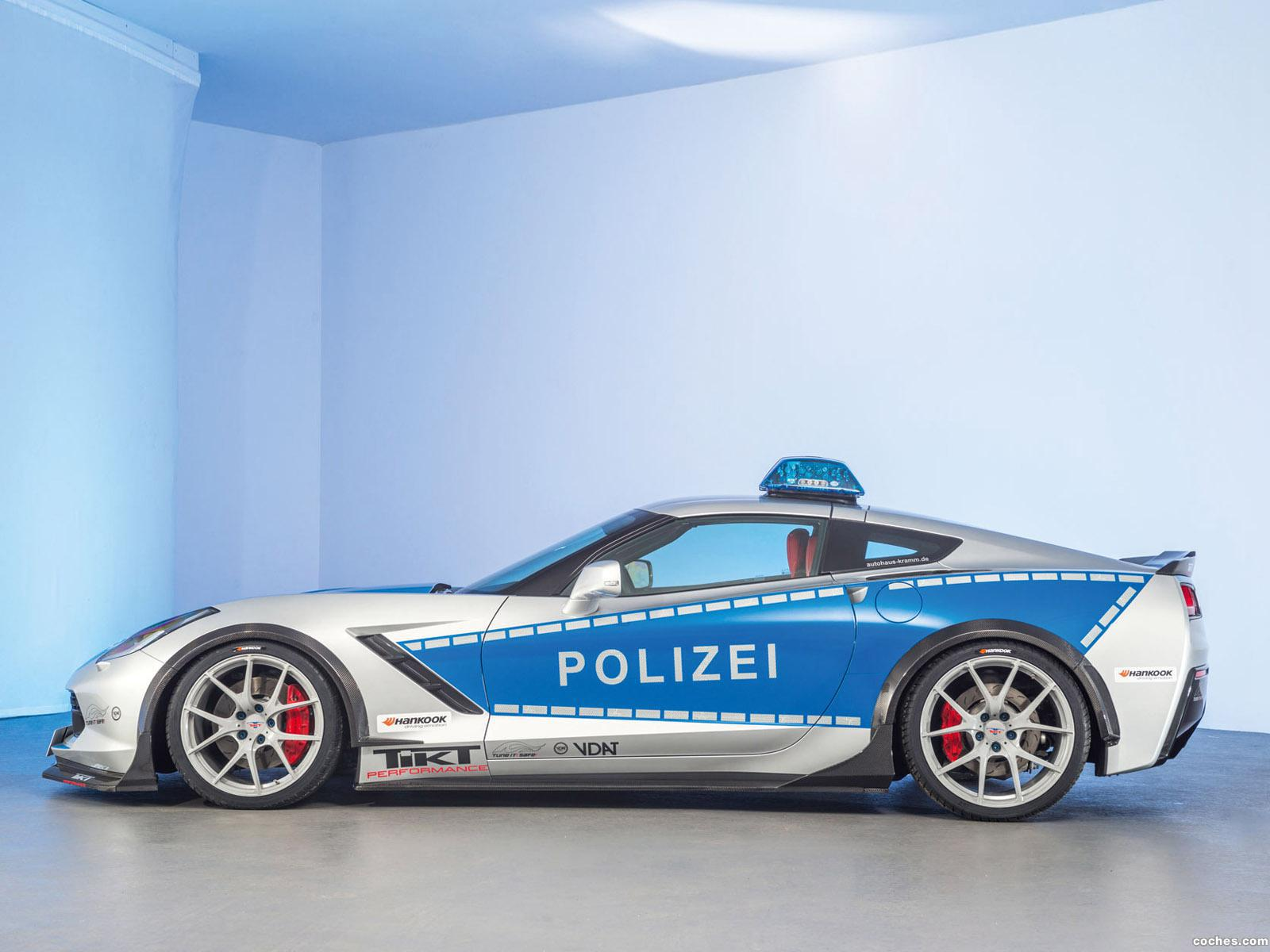 Foto 5 de Chevrolet Corvette C7 Stingray Coupe Polizei Safe Concept 2015