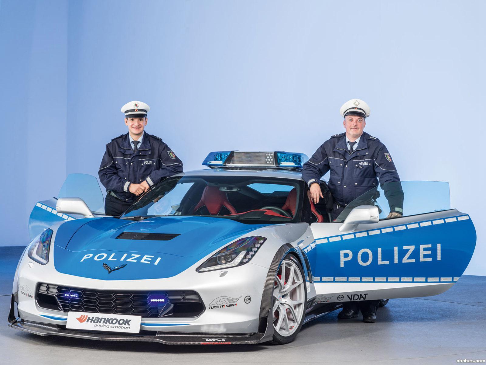 Foto 3 de Chevrolet Corvette C7 Stingray Coupe Polizei Safe Concept 2015