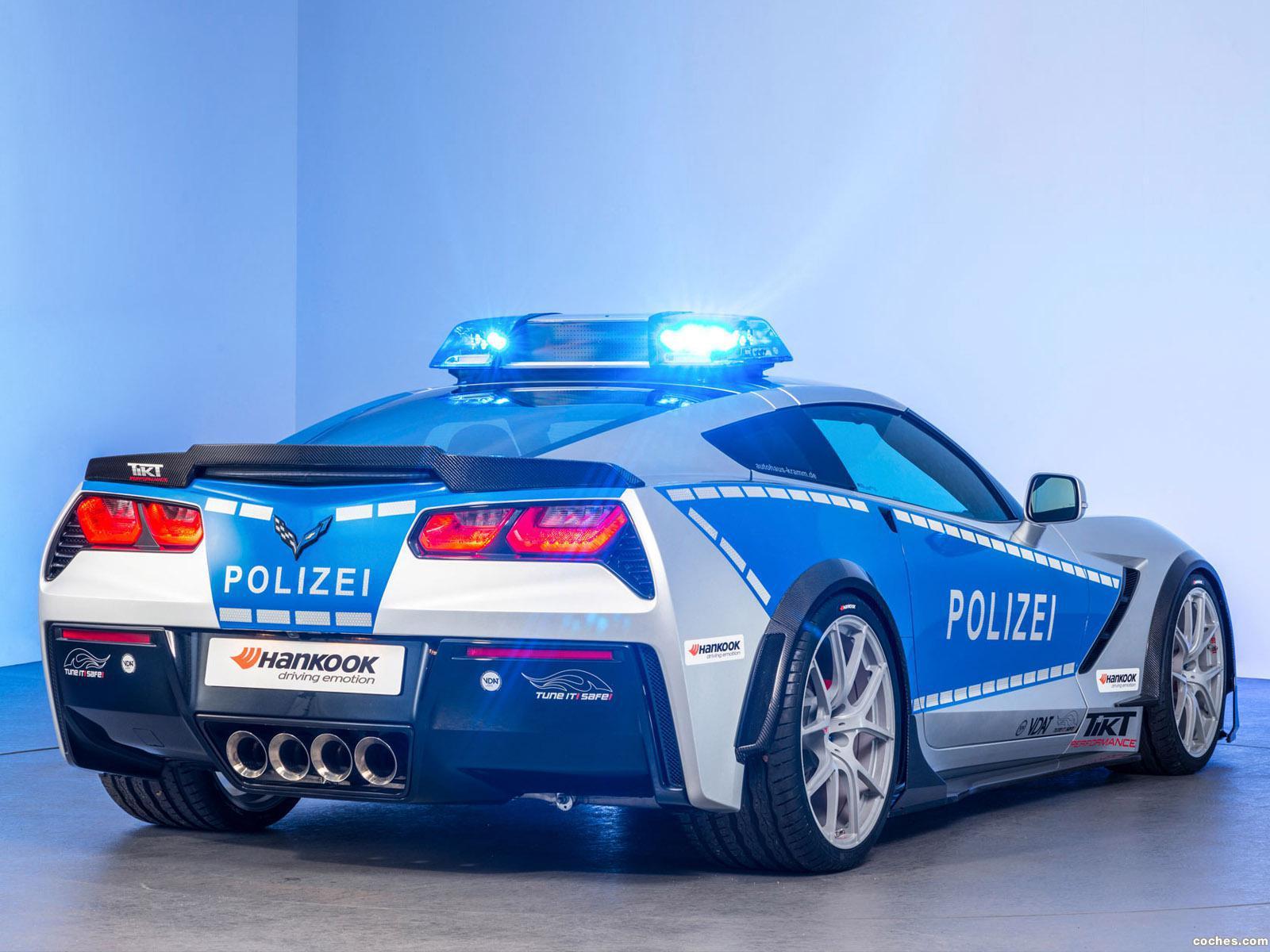 Foto 2 de Chevrolet Corvette C7 Stingray Coupe Polizei Safe Concept 2015