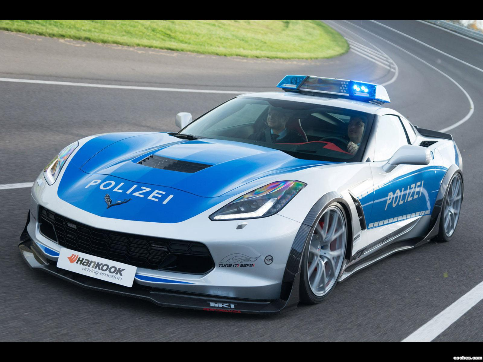 Foto 1 de Chevrolet Corvette C7 Stingray Coupe Polizei Safe Concept 2015
