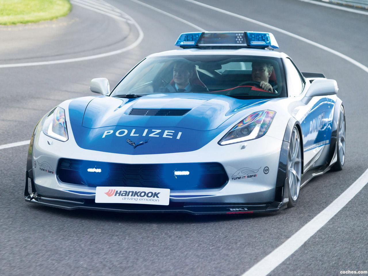 Foto 0 de Chevrolet Corvette C7 Stingray Coupe Polizei Safe Concept 2015