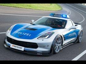 Ver foto 2 de Chevrolet Corvette C7 Stingray Coupe Polizei Safe Concept 2015
