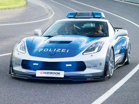 Fotos de Chevrolet Corvette C7 Stingray Coupe Polizei Safe Concept 2015